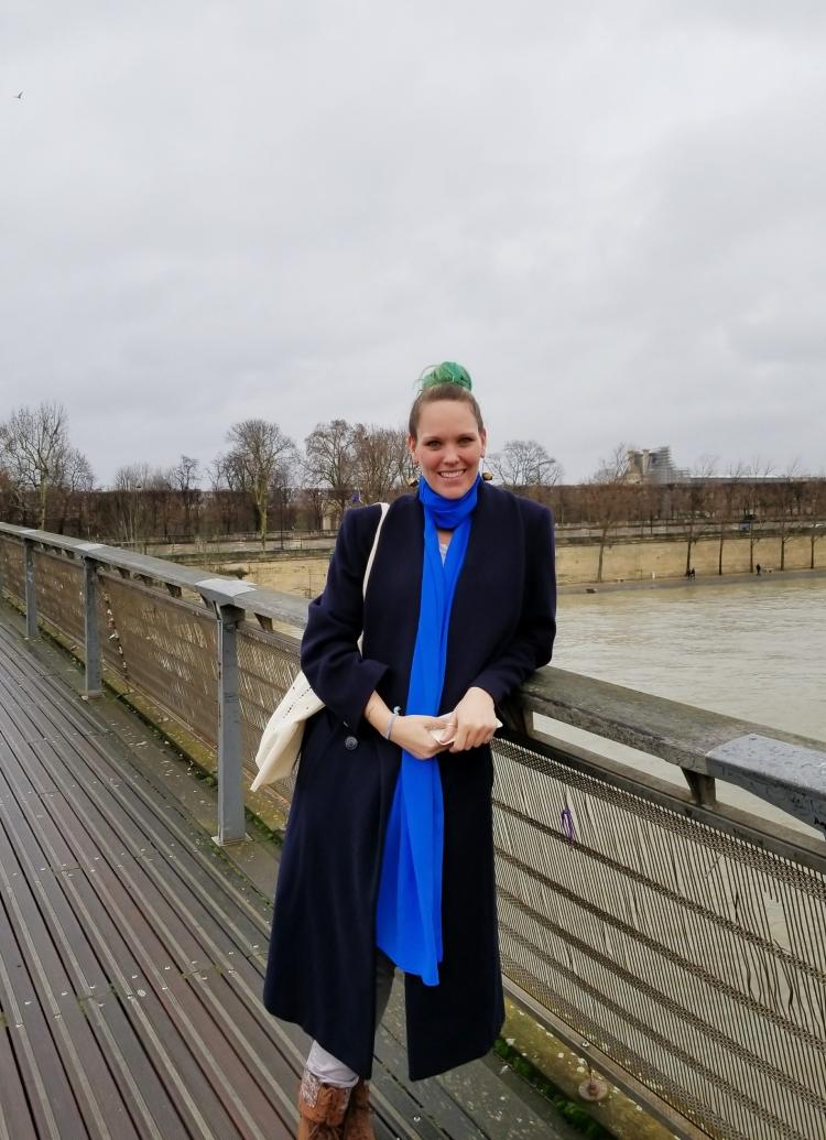 Lizzie does Paris - outtakes Not the Love Bridge